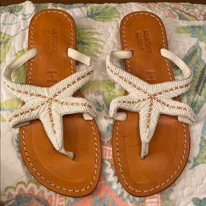 Cute beachy sandals!